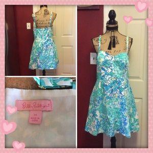 Pretty Lilly Pulitzer Dress EUC